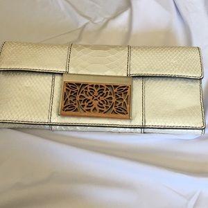 Calvin Klein Clutch Wristlet Leather Bag